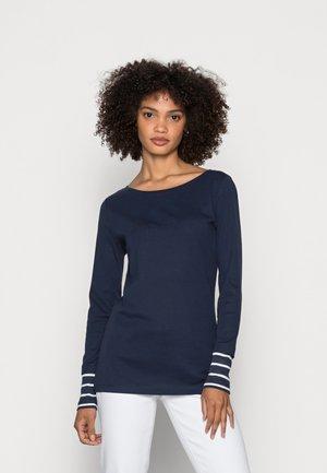 LONGSLEEVE CUFF - T-shirt à manches longues - navy