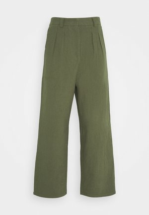 7/8 PANT - Trousers - olive