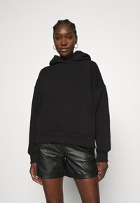 Gestuz - RUBI HOODIE - Sweatshirt - black - 0