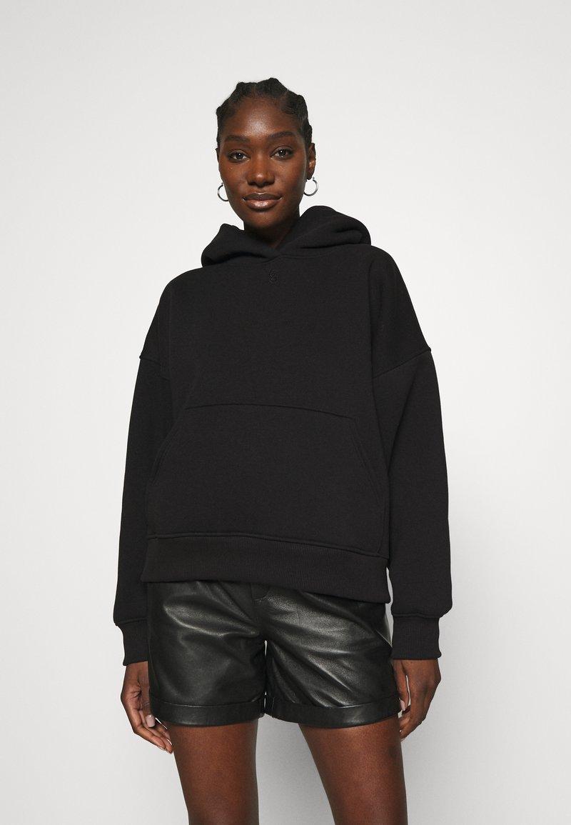Gestuz - RUBI HOODIE - Sweatshirt - black