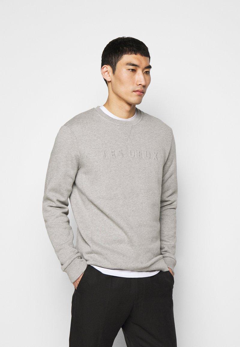 Les Deux - LES DEUX APPLIQUÉ  - Sweatshirt - light grey melange