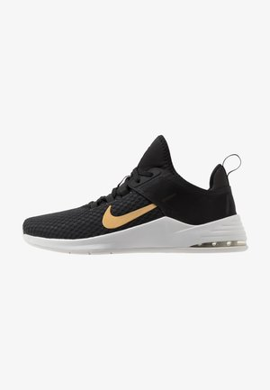 AIR MAX BELLA TR 2 - Sports shoes - black/metallic gold/gunsmoke/vast grey