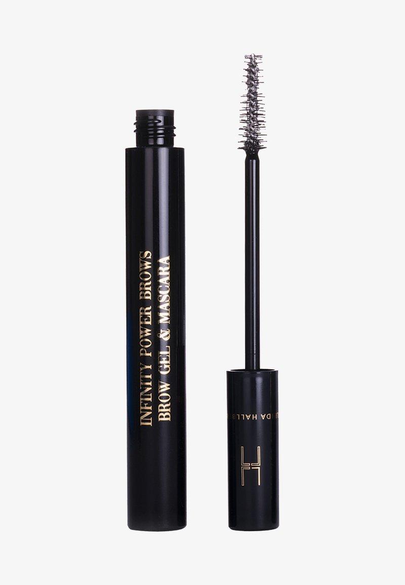 LH cosmetics - INFINITY POWER BROWS - BROW GEL & MASCARA CLEAR - Wenkbrauwgel - -