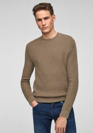 TRUI - Pullover - brown knit