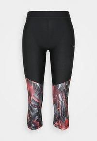 ONLY Play - ONPJUDIE TRAINING  - Leggings - black/fiery coral - 4