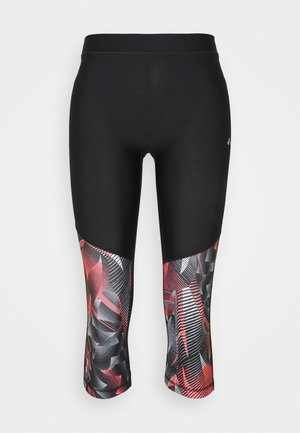 ONPJUDIE TRAINING  - Collants - black/fiery coral