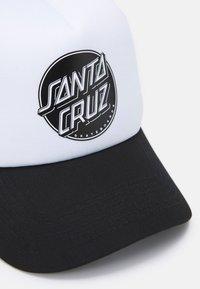 Santa Cruz - CONTRA DOT UNISEX - Casquette - black - 3