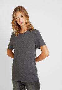 Pier One - T-shirt - bas - dark grey melange - 3