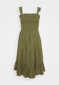 ONLY - ONLPELLEA LIFE STRAP DRESS - Day dress - capulet olive - 3