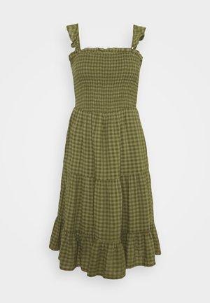 ONLPELLEA LIFE STRAP DRESS - Denní šaty - capulet olive