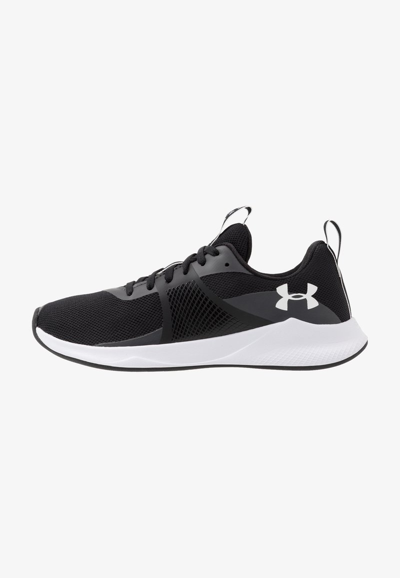 Under Armour - CHARGED AURORA - Sportovní boty - black/white
