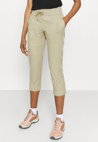 The North Face - WOMEN'S APHRODITE CAPRI - 3/4 sports trousers - twill beige - 0