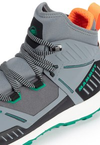 Mammut - SAENTIS PRO WP - Hiking shoes - granit light emerald - 5