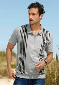 Roger Kent - Polo shirt - silbergrau dunkelgrau - 1