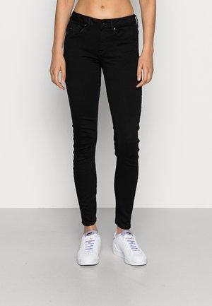 ARC 3D MID SKINNY  - Jeans Skinny Fit - pitch black