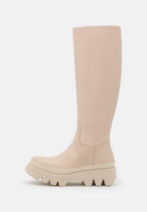 IDA - Platåstøvler - ivory