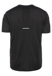 ASICS - SMSB - Print T-shirt - performance black / graphit grey - 1