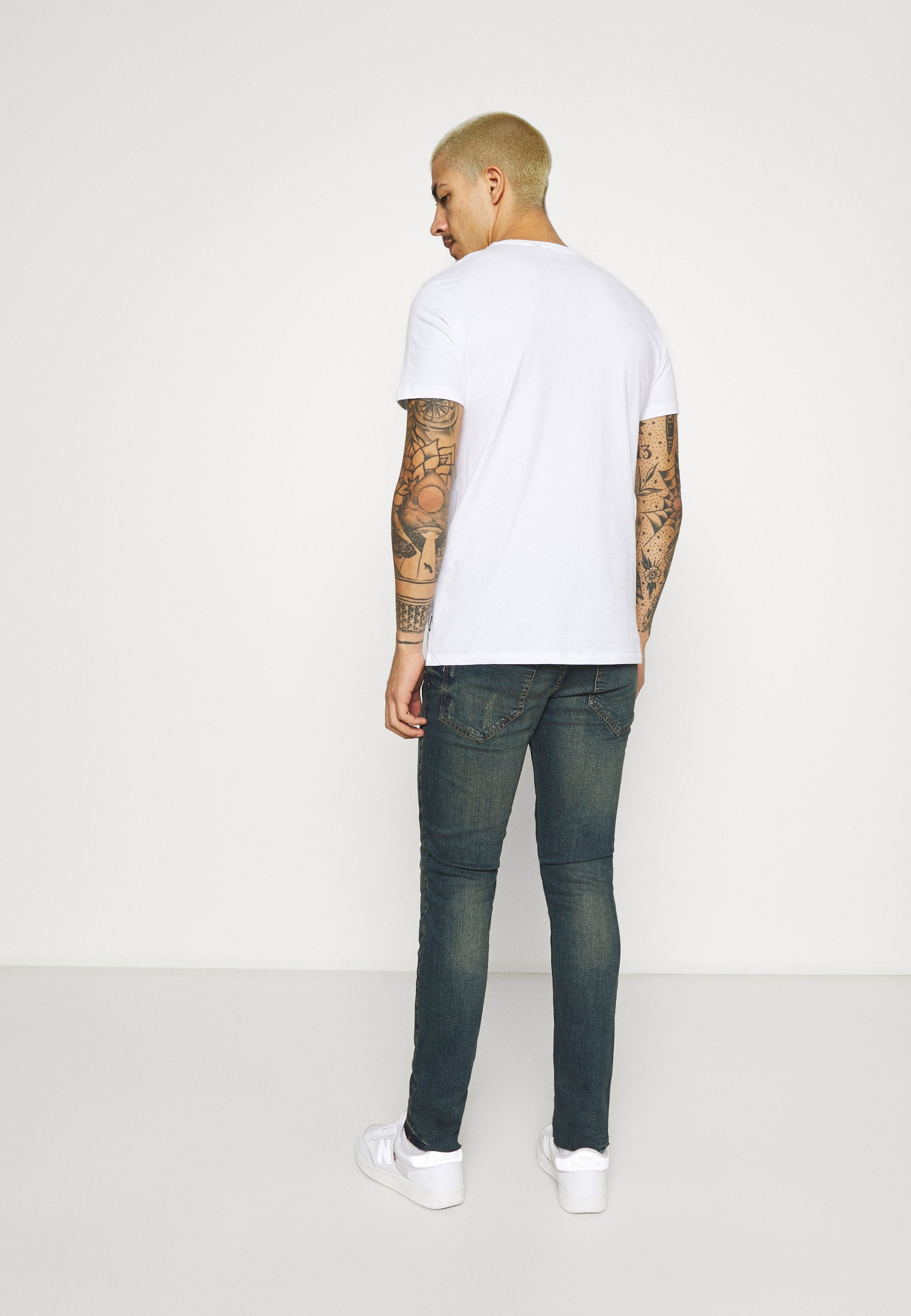 Men STOCKHOLM DESTROY - Slim fit jeans