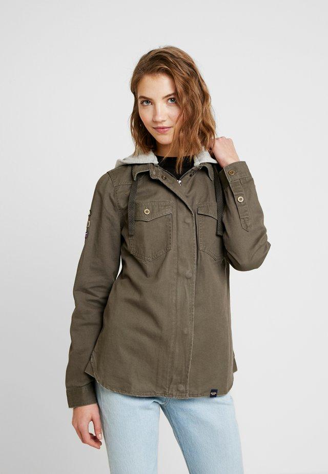 RAVEN MILITARY - Summer jacket - dark khaki
