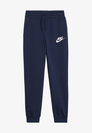 CLUB  - Tracksuit bottoms - midnight navy/white