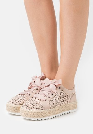 Chaussures à lacets - beige
