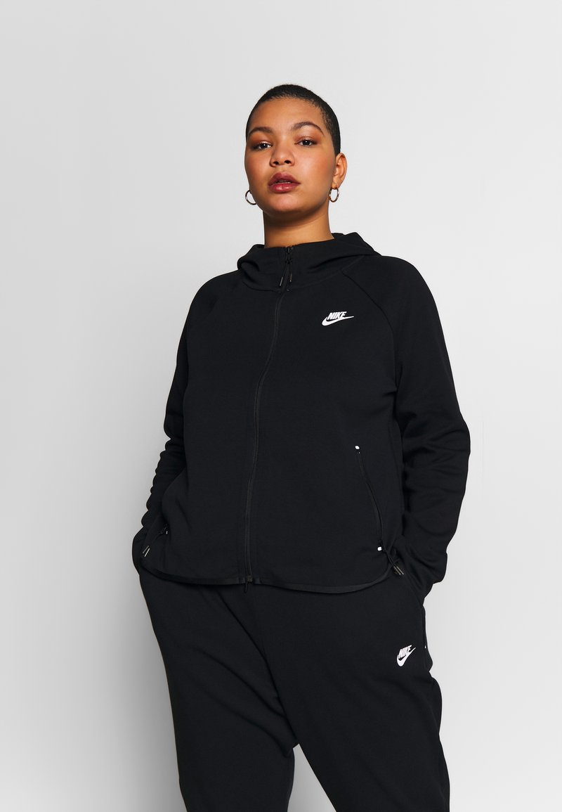 Nike Sportswear - CAPE PLUS - Collegetakki - black/white