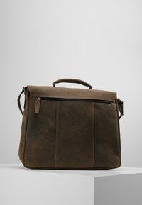 Strellson - HUNTER BRIEFBAG - Laptop bag - dark brown - 2