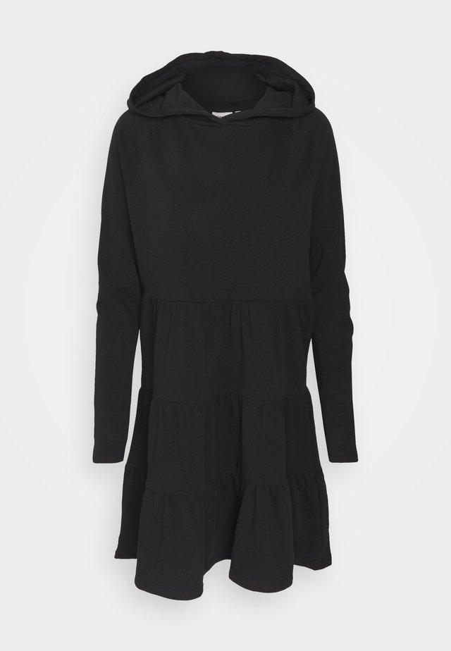 ONLATHENA LIFE HOOD DRESS - Day dress - black