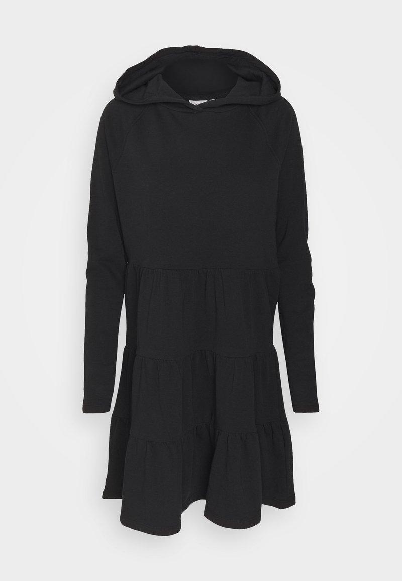 ONLY Tall - ONLATHENA LIFE HOOD DRESS - Day dress - black