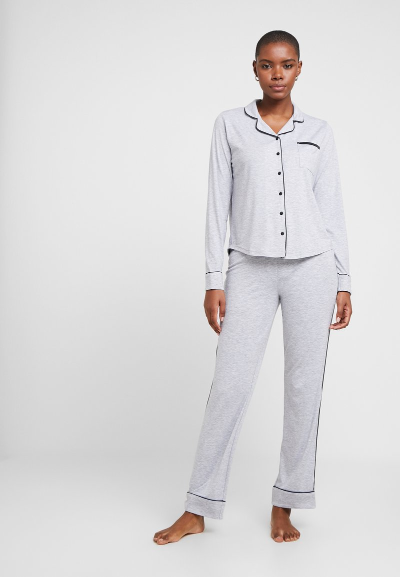 Esprit - KAIH SOLID SET - Pyjamas - medium grey