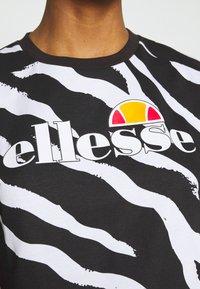 Ellesse - RERTA - Camiseta estampada - black - 5