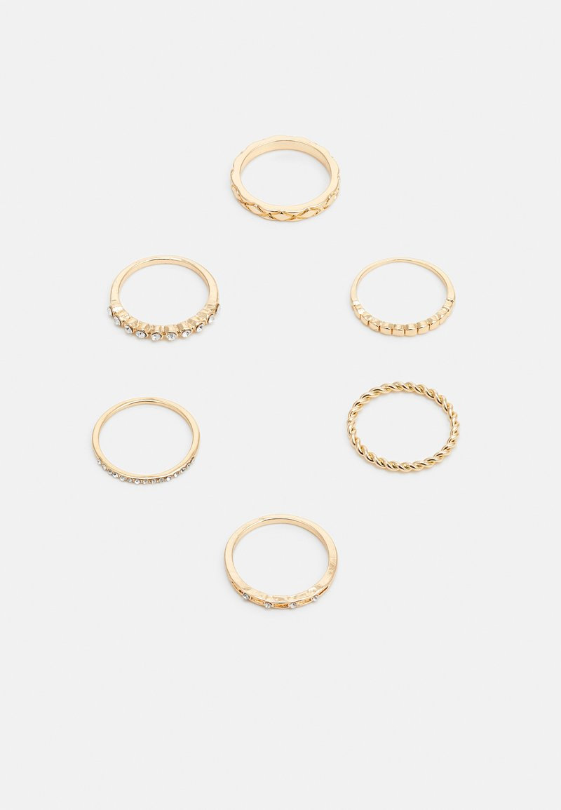 LIARS & LOVERS - 6 PACK - Pierścionek - gold-coloured