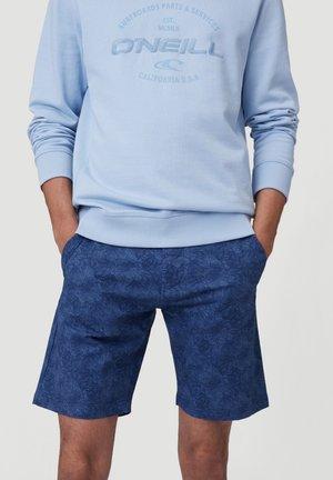 OUTLINE FLORAL - Shorts - true navy