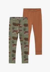 Walkiddy - 2 PACK - Leggings - Trousers - green - 3