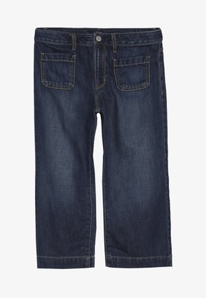 GIRLS - Relaxed fit jeans - dark denim