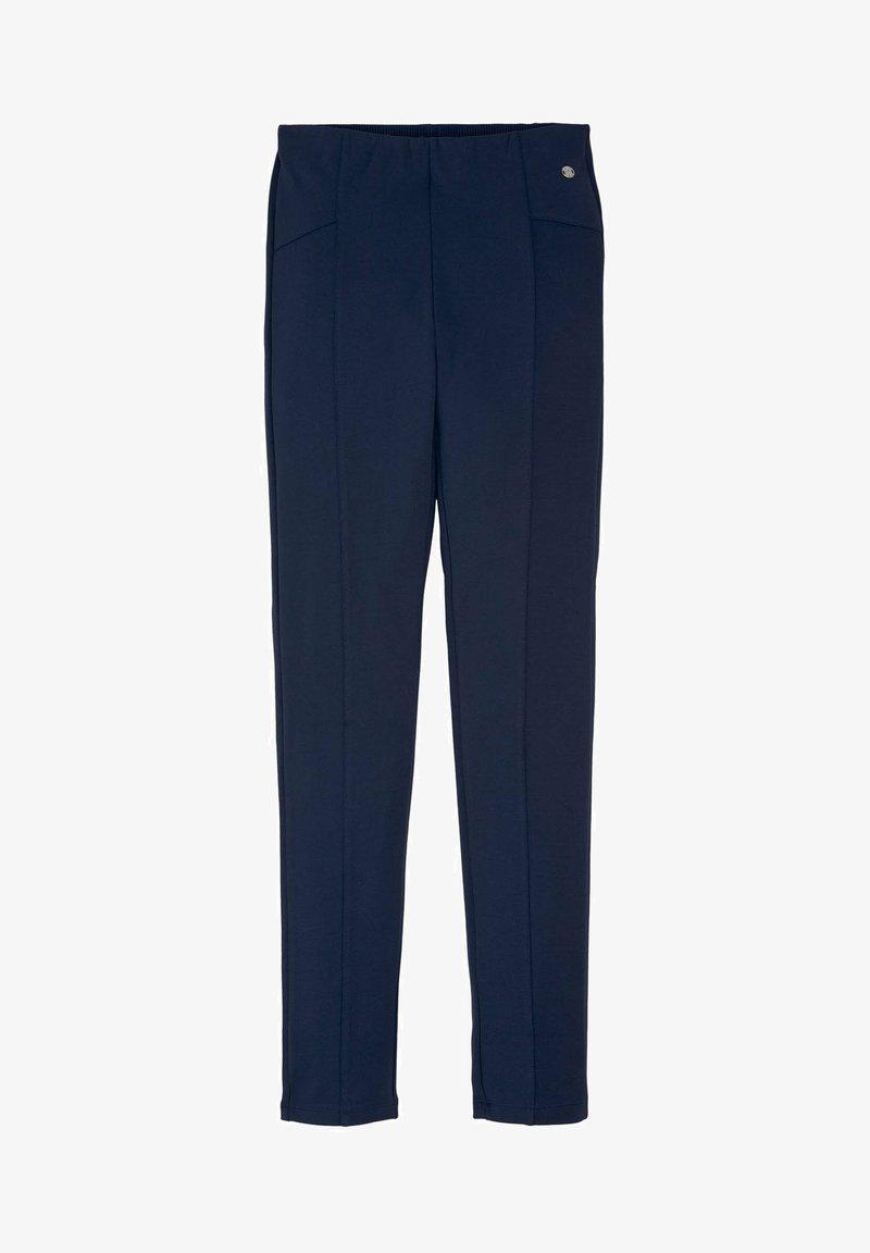 TOM TAILOR - Trousers - dress blue|blue