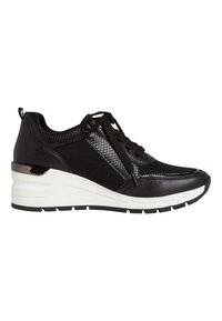 Marco Tozzi - SNEAKER - High-top trainers - black comb - 4