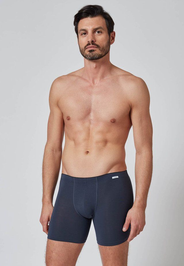 MIT LÄNGEREM BEIN - Boxer shorts - bluetone