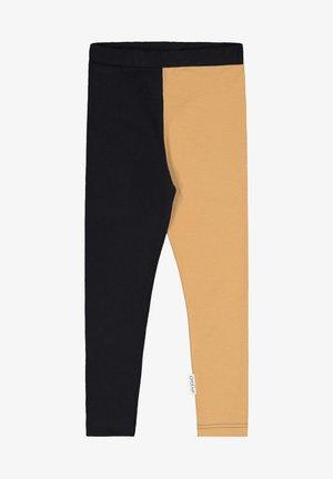 Leggings - black/nougat