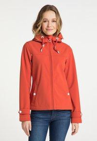 DreiMaster - Soft shell jacket - orange rot - 0