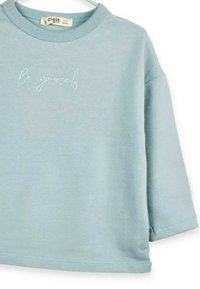 Cigit - BE YOURSELF - Long sleeved top - turquoise - 2