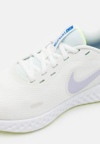 Nike Performance - REVOLUTION 5 - Neutral running shoes - summit white/pure violet/lime ice/volt glow/game royal/white - 5