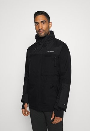 PARK RUN JACKET - Snowboardová bunda - black