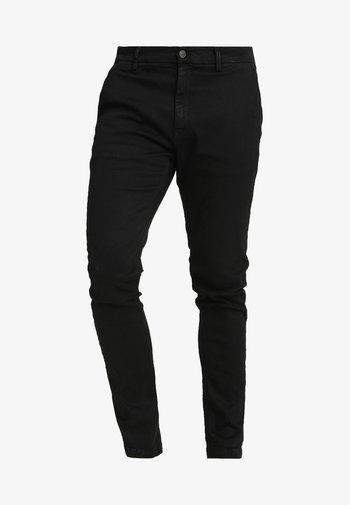 ZEUMAR HYPERFLEX  - Slim fit jeans - black