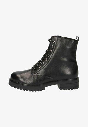 Kovbojské/motorkářské boty - black nappa
