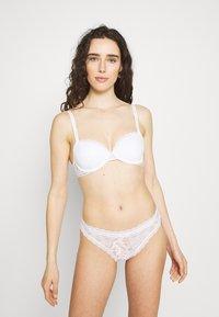 Calvin Klein Underwear - ONE BIKINI - Braguitas - white - 1