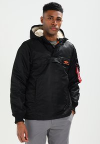 Alpha Industries - ANORAK - Jas - black - 0