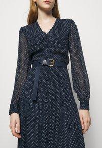 MICHAEL Michael Kors - PERFECTION BELTED - Day dress - dark blue - 5