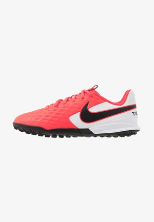JR TIEMPO LEGEND 8 ACADEMY TF UNISEX - Astro turf trainers - laser crimson/black/white