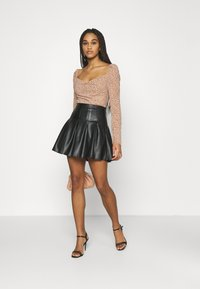 Missguided - DITSY MILKMAID SLIT CUFF - Blouse - multi - 1